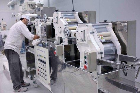Sun Noodle factory