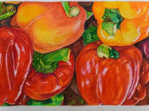 Peppers by Gail Steel