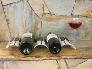 Piano Wine Holder by Vicki Urbich
