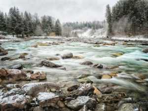 Chilliwack River in Winter - Carsten Arnold