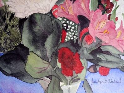 Christmas Bouquet by Jocelyn Bichard