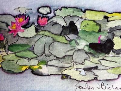 On the Pond by Jocelyn Bichard