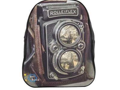 Vintage Rolleiflex Camera Backpack