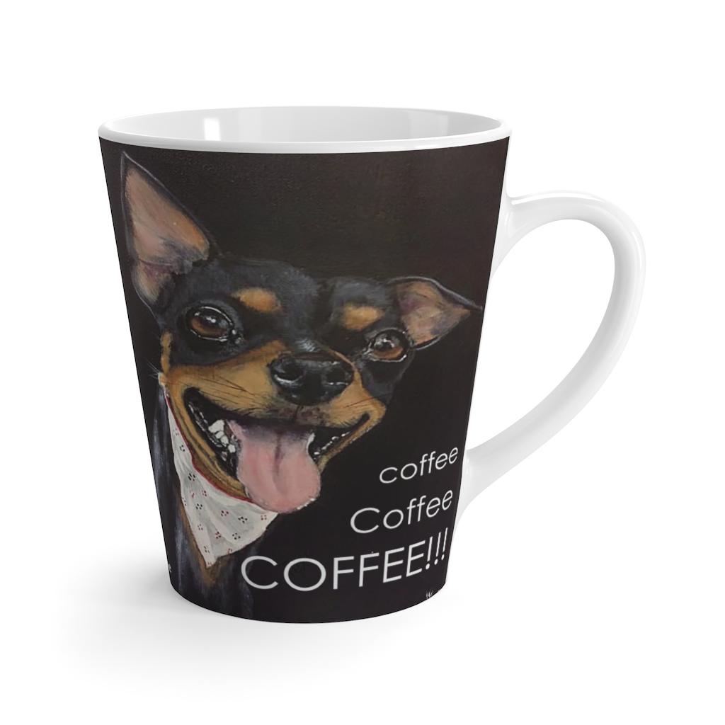 coffee Coffee COFFEE Latte Mug