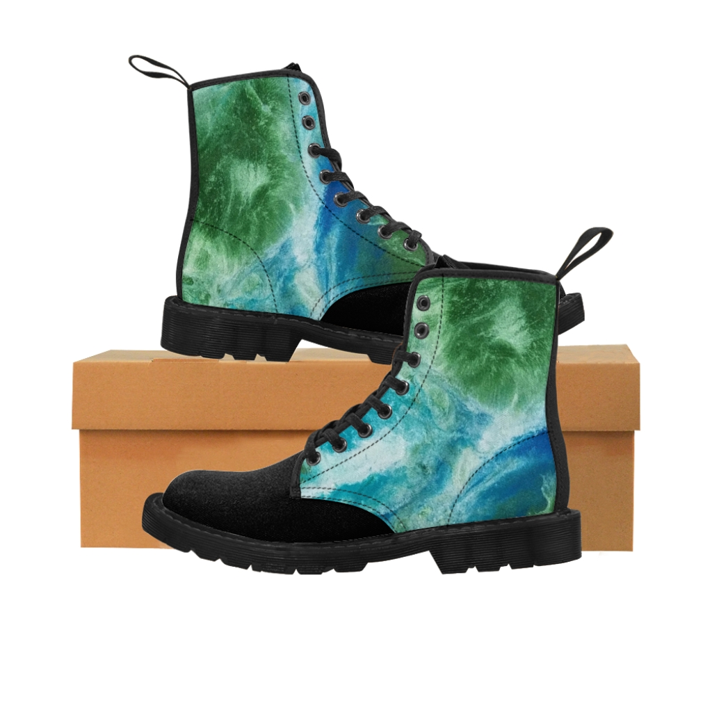 On Top of the World Canvas Boots