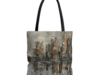 Grey Day in Vancouver Tote Bag