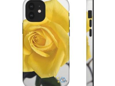 Yellow Rose Tough Cases