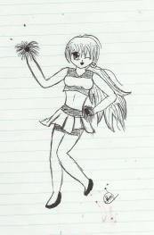 cheerleader