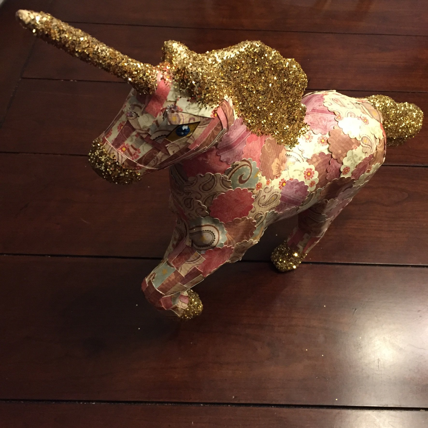 Magical Unicorn Decoupage Craft