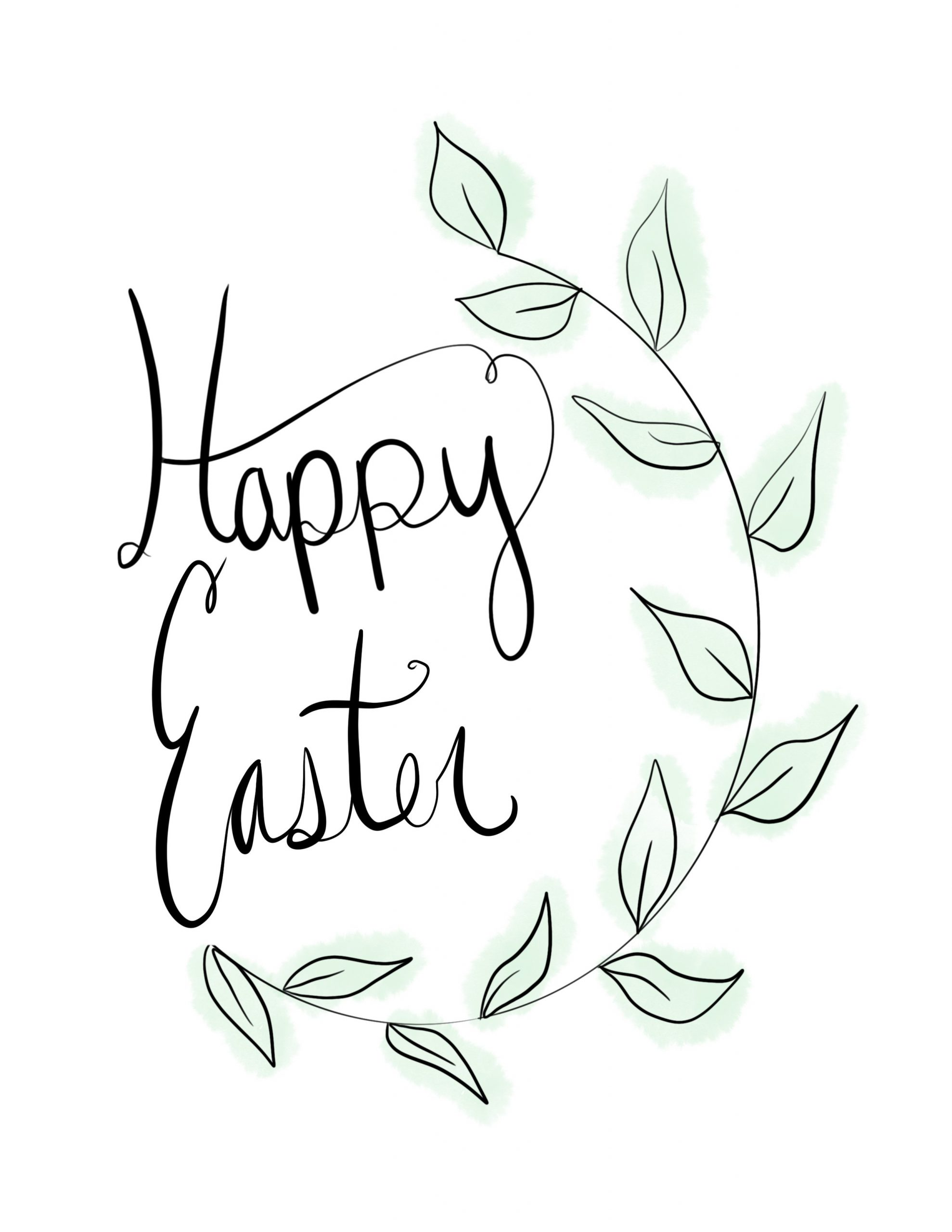 Free: Easter Art Printable