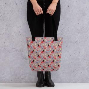 Makeup Print Tote bag