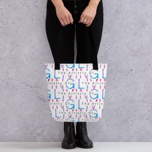 The Artistry of Living Tote bag