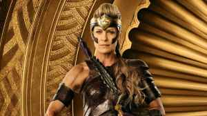 Robin Wright as General Antiope, Wonder Woman's aunt.