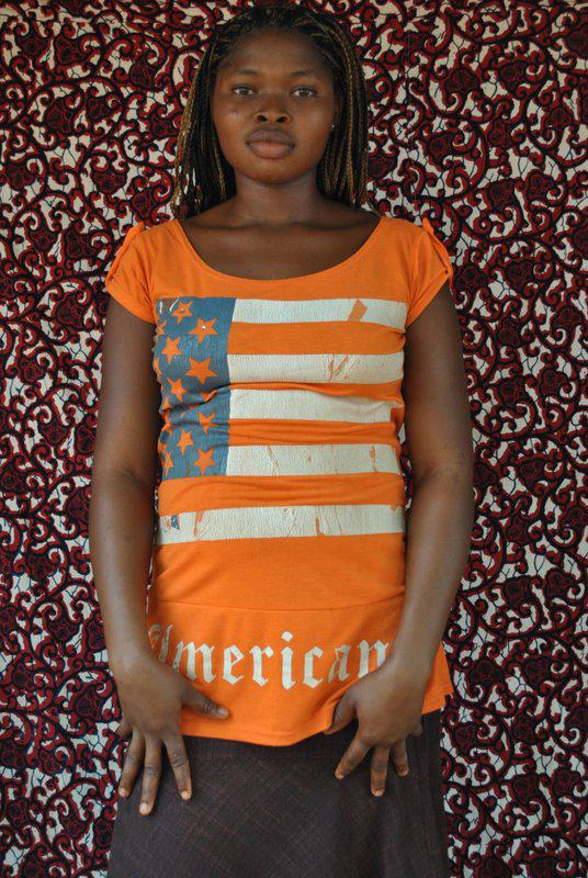 "Victor Ehikhamenor, ""American Invasion"", 2009-2010. Courtesy Victor Ehikhamenor"