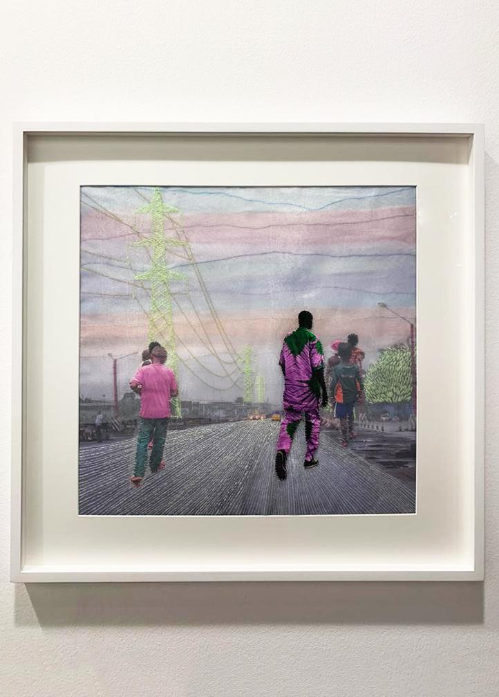 """Joana Choumali, série """"Alba'hian"""",2019. Courtesy Gallery 1957, Accra."""