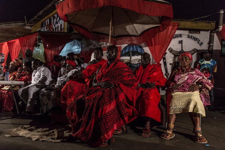 "Nyancho NwaNri, ""Jamestown Royallty"", Accra, 2017."