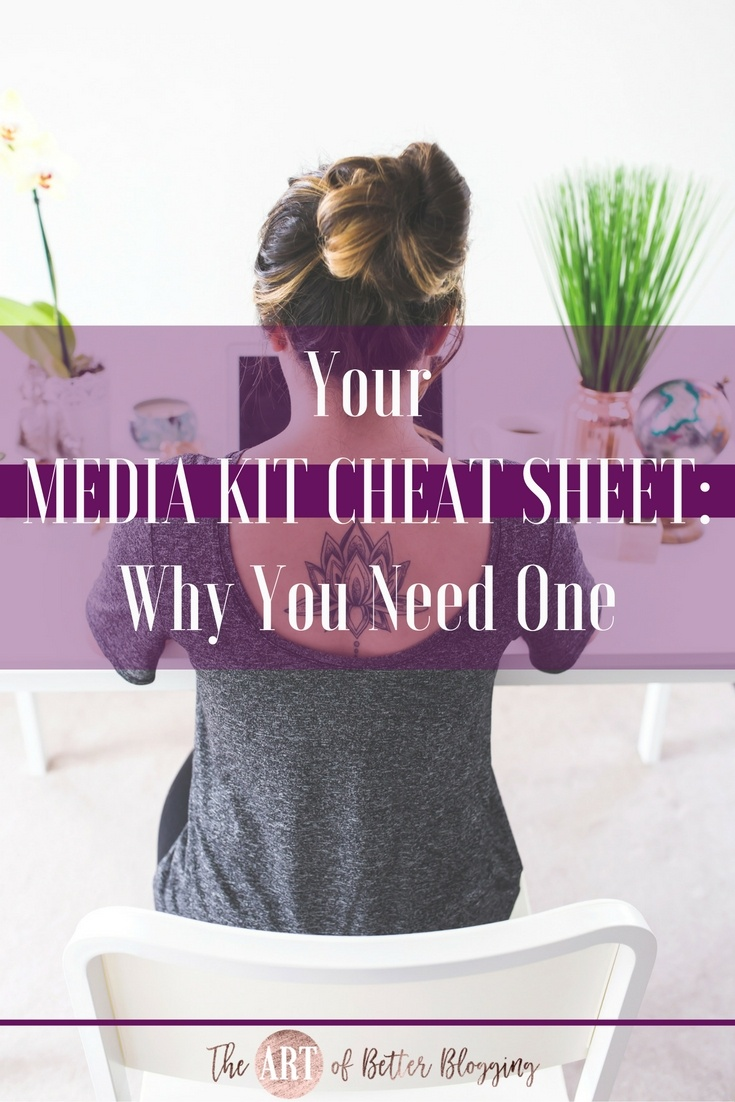"If you've been in the blog-o-sphere for any length of time, you've inevitably heard the term ""media kit."" It's easy to get overwhelmed with all the advice and information floating around out there. Getting started with a media kit doesn't have to be complicated. Media Kit Cheat-Sheet- What It Is, What It Needs & How to Get One - The Art of Better Blogging"