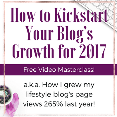 Ready to kickstart your blog's growth this year?