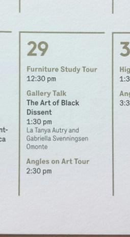 The Art of Black Dissent, April 2016
