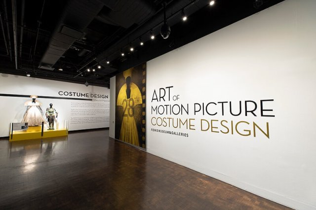 """A view of the 28th annual """"Art of Motion Picture Costume Design"""" exhibition, at the FIDM Museum, Fashion Institute of Design & Merchandising, Los Angeles. (Photo: Alex J. Berliner/ABImages)"""