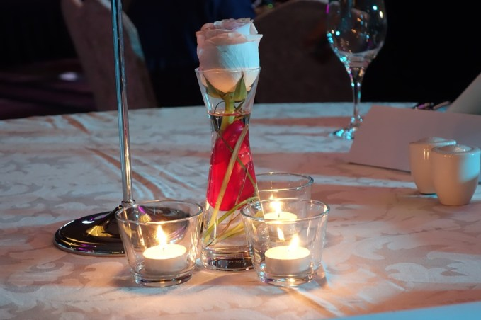 Center Table setting