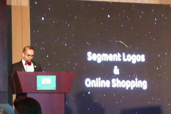Faisal Malik doing his speech