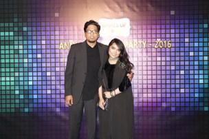 my husband Kris and I