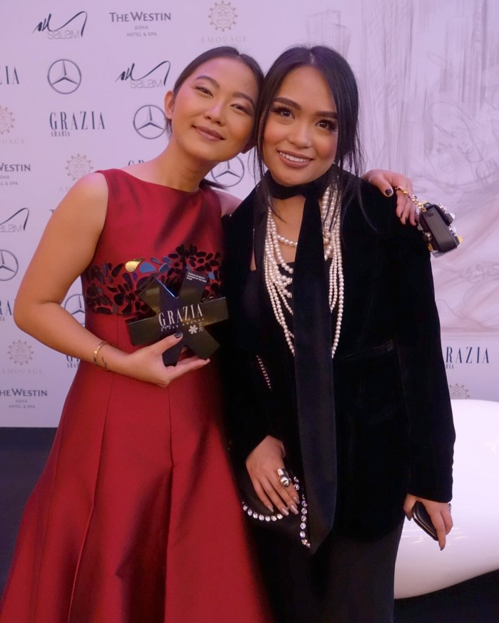 """witnessing CLUMSY CHIC's """"grazia style awards: blogger of the year"""" win"""