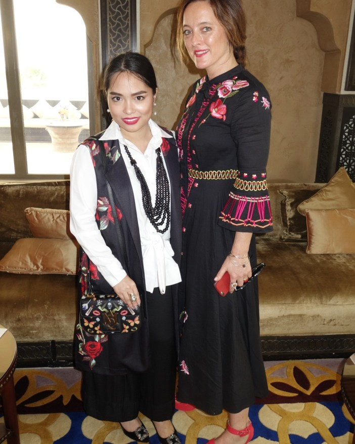 with Alice Temperley of TEMPERLEY LONDON
