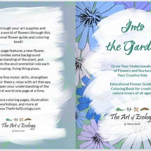 """Garden"""" Coloring Book"""
