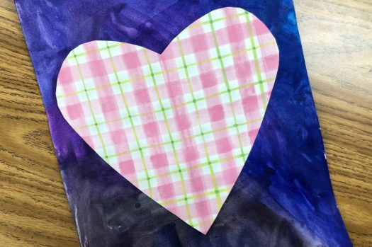 student work inspired by Jim Dine