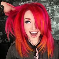 Totally in love with this hair colour by Guy Tang on Mykie from the Youtube Channel Glam and Gore