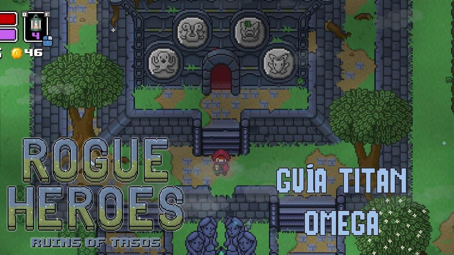 Rogue Heroes titan omega