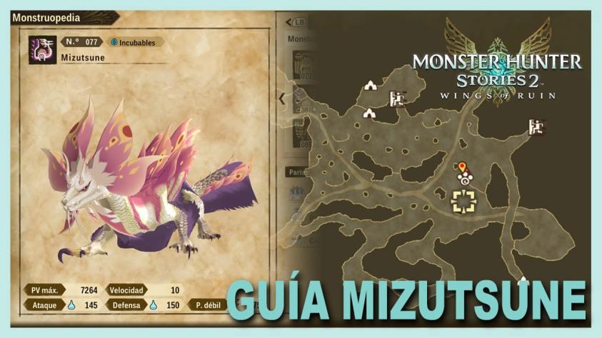 Monster Hunter Stories Mizutsune