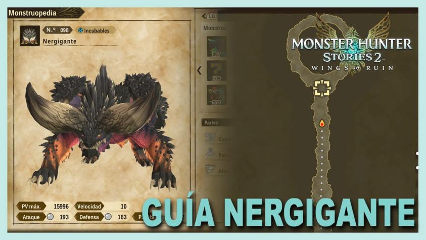 Monster Hunter Stories Nergigante