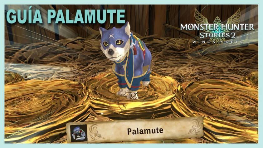 Monster Hunter Stories Palamute