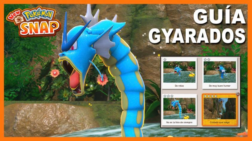 Guía New Pokémon Snap Desbloquear a Gyarados