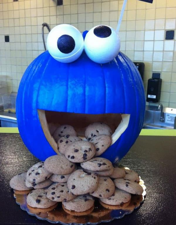 26-cookie-monster-pumpkin