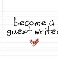 Are you our next guest writer?