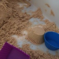 Home Made Kinetic Sand