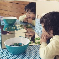 How to make a Montessori Mirror Box