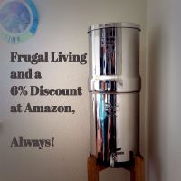 Frugal Living and a Minimal 6% Discount at Amazon, Always!