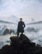 Caspar David Friederich, Wanderer Above a Sea of Fog