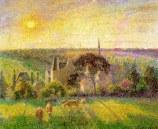 Pissarro, Paysage d'Eragny