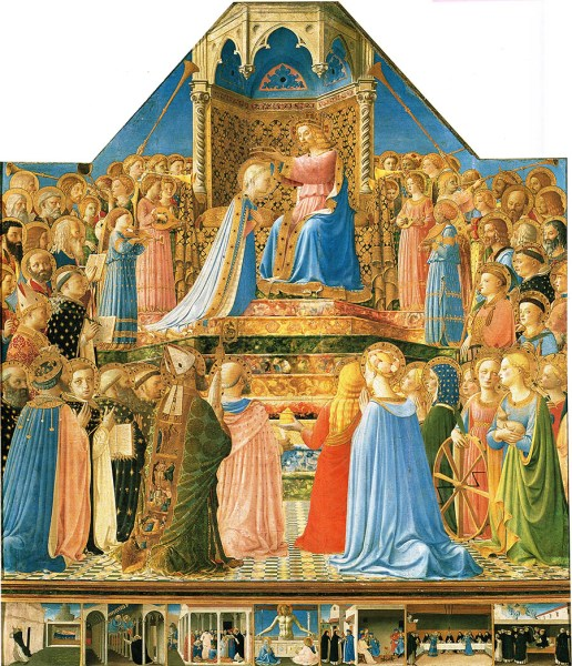 Fra Angelico Coronation emailable