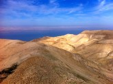The Dead Sea from Makawer.