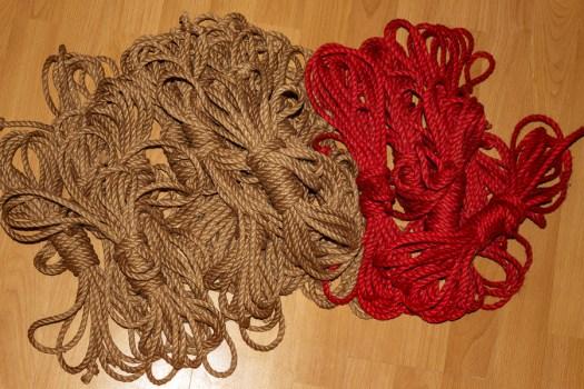 die fertigen Sets Rope