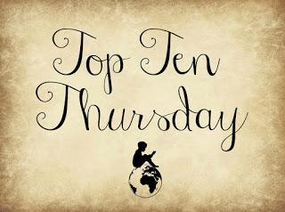 Tageszeiten im Titel | Top Ten Thursday №16