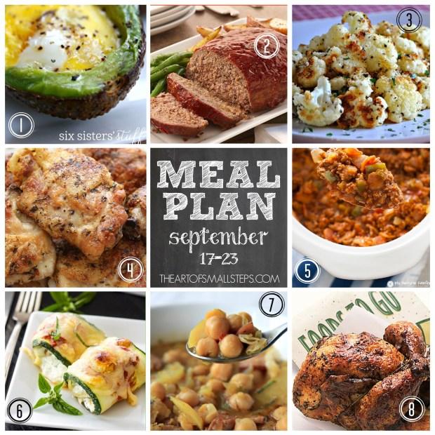 Meal Plan: Week 38