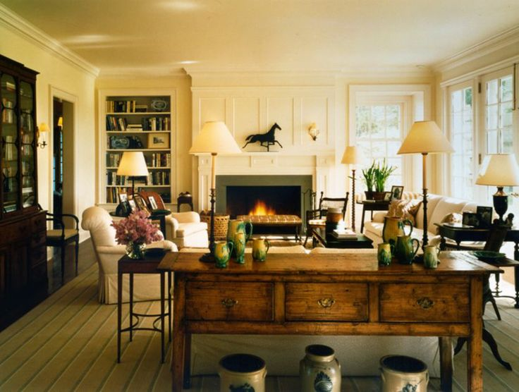 Family Room Elle Decor